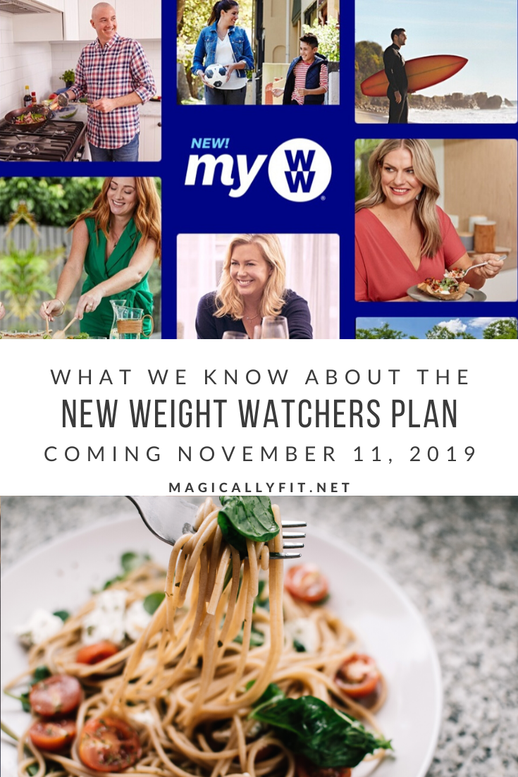 New Weight Watchers Plan 2020 myWW - Magically Fit